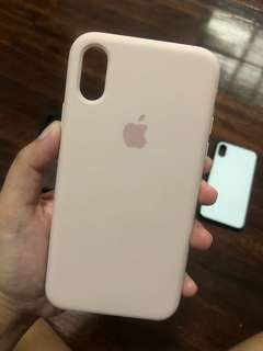 Sand Pink Silicon Case