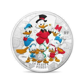 Scrooge Duck 2017 5 oz silver coin