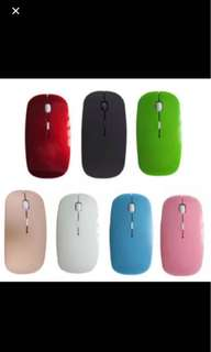 Wireless Mouse! Think and Sleek!
