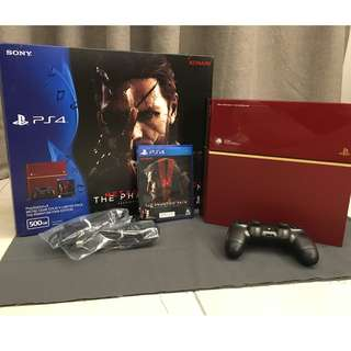 Sony PS4 Limited Edition - Metal Gear Solid V bundle