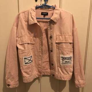 Othermix millennial pink jacket