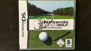 DS Nintendo Touch Golf