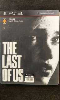 PS3 The Last Of Us (SteelBook + Game)