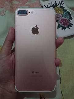 iphone 7 plus rose gold 128gb (BACA KETERANGAN)