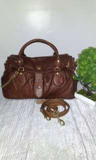 💯% Guaranteed Authentic SALAD Genuine Leather two way Bag