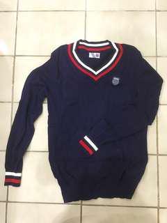 K-Swiss 深藍毛衣