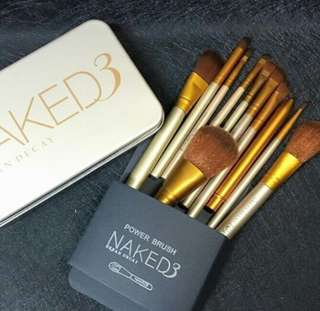 NAKED BRUSH SET (12pcs)