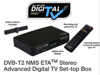 NMS ETA Digital TV HD Set TOP box