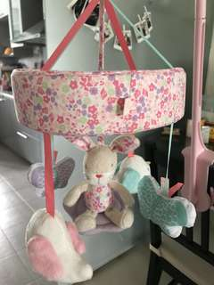 Mothercare musical mobile cot