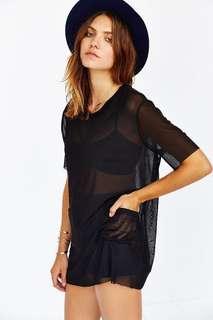 mesh shirt (UO)