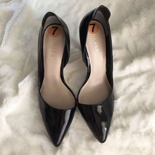 Reiss patent leather shoes