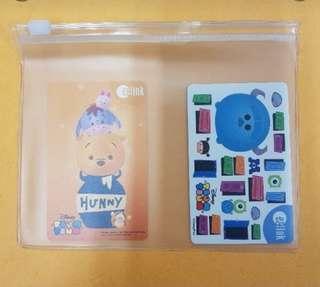 Winnie The Pooh Ezlink Card Set