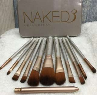 NAKED BRUSH SET 12 PCS