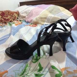 Parisian Black Duty Shoes
