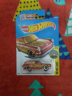 全新 hotwheels custom 69 Volkswagen squareback