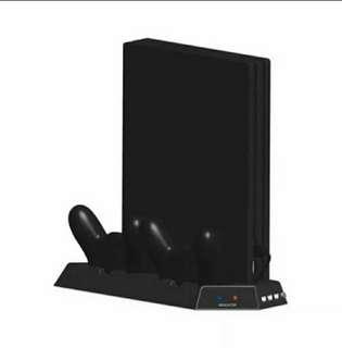 PS4 PRO 散熱器充電架