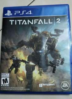 Ps4 titanfall 2 games used games