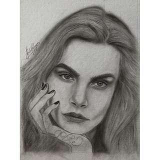 Open for commission portrait
