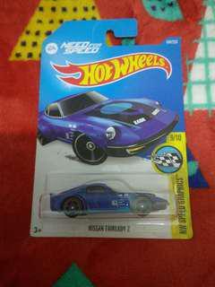 全新 Hotwheels Nissan fairlady Z