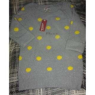 FreeSF| Polka Sweater 3/4 (XS)