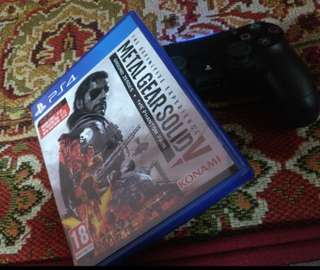 Ps4 metal gear solid V mgsv the definitive experience