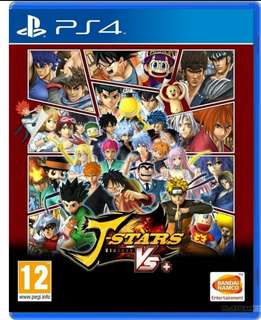 Ps4 Game j- stars victory vs+