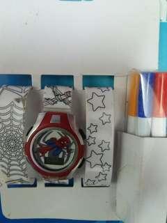 DIY填色手錶 DIY Coloring watch