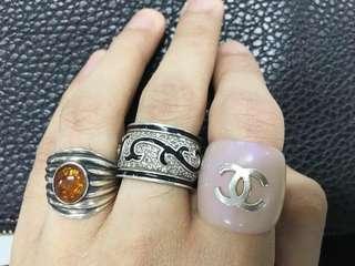 CHANEL Ring Vintage RARE