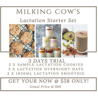 Milking Cow's lactation cookies