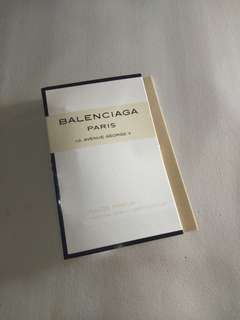 Vial Parfum Balenciaga Paris For women 1.2ml EDP