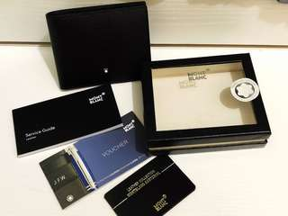 Montblanc Sartorial Wallet 6cc Black (Mont Blanc)