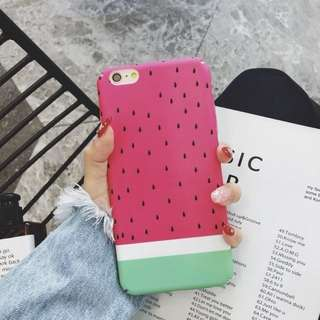 Watermelon Hard case Iphone 5 5s 6 6s