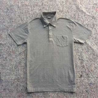 EDDIE BAUER POLO SHIRT GREY