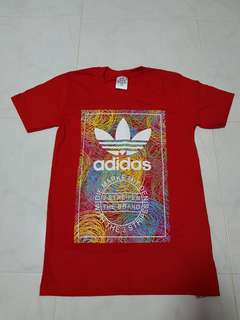 Red Adidas t. Shirt