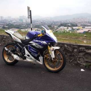 Yamaha fz150i custom full modified urgent !!