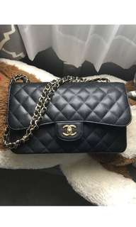 Authentic Chanel Classic Jumbo Caviar Double Flap