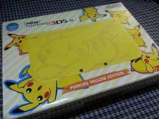 new Nintendo 3DS XL Pikachu Edition cfw