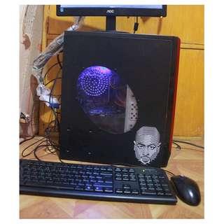 Desktop A10 Gaming Computer