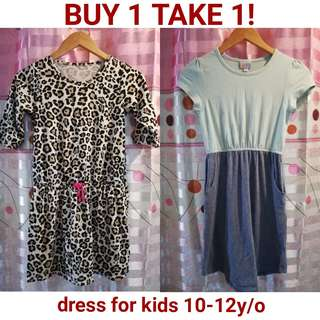 Dress for girls 10 to 12y/o