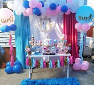 Gender Reveal Party Decor (FREE GIVEAWAY FREEBIE)