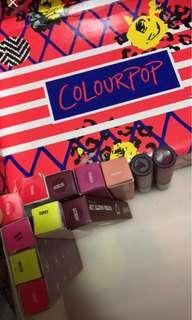 Colourpop lippies!!