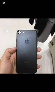 Iphone 7 32gb matteblack globelocked With box charger and headset price is negotiable rfs upgrade phone