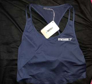 Gymshark crop singlet small