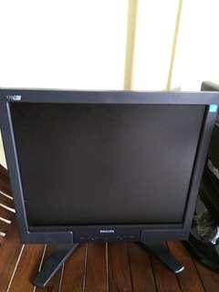 """Philips 17"""" monitor - 170B"""