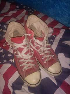 Sepatu Converse All Star Red / Merah