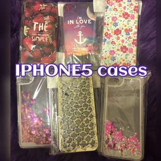 iPhone5 Cases (Take all for $80!)