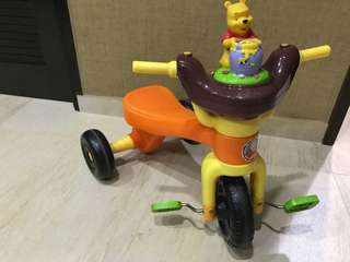 Pool tricycle