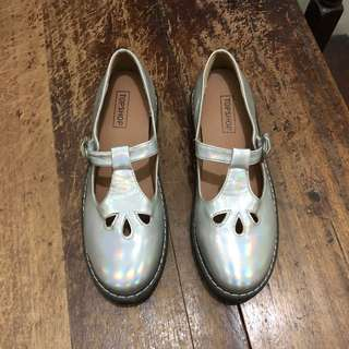 Topshop Holographic Shoes