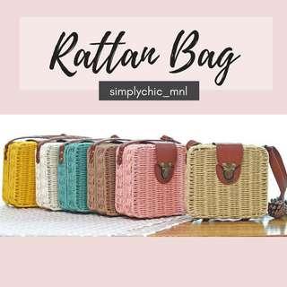 [Pre-Order] Rattan Bags