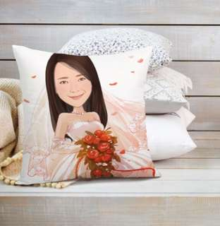 Personalized Caricature Pillow Case